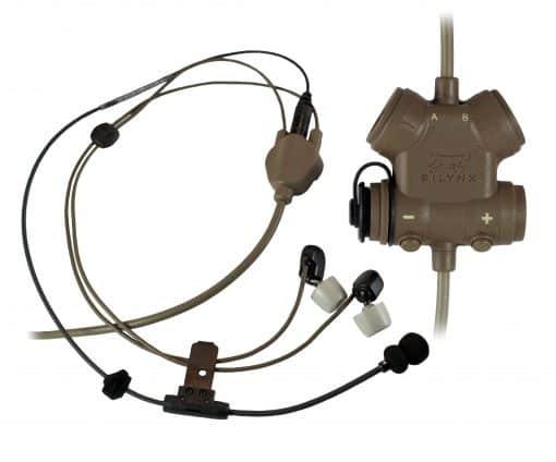 Hybrid Headset w/ Clarus Tan